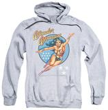 Hoodie: Wonder Woman - Wonder Woman Vintage Pullover Hoodie