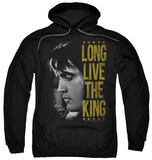 Hoodie: Elvis Presley - Long Live The King Pullover Hoodie