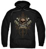 Hoodie: Lethal Threat - Skull N Bullets T-Shirt