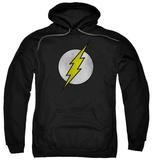 Hoodie: The Flash - Flash Logo Distressed Pullover Hoodie