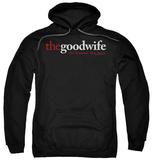 Hoodie: The Good Wife - Logo Pullover Hoodie