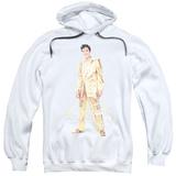 Hoodie: Elvis Presley - Gold Lame Suit Pullover Hoodie