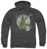 Hoodie: Green Arrow - Right On Target Pullover Hoodie