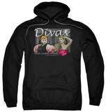 Hoodie: I Love Lucy - Divas Pullover Hoodie