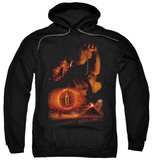 Hoodie: The Lord of the Rings: The Return of the King - Destroy The Ring Pullover Hoodie