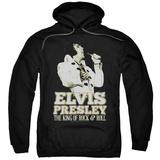 Hoodie: Elvis Presley - Golden Pullover Hoodie