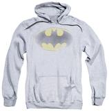 Hoodie: Batman - Faded Logo Pullover Hoodie