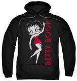 Hoodie: Betty Boop - Classic Pullover Hoodie