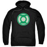 Hoodie: Green Lantern - Green Symbol Pullover Hoodie