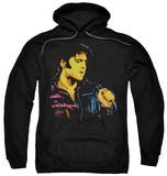 Hoodie: Elvis Presley - Neon Elvis Pullover Hoodie