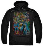 Hoodie: Justice League - Original Universe Pullover Hoodie