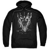 Hoodie: The Lord of the Rings: The Fellowship of the Ring - Big Sauron Head Pullover Hoodie