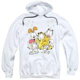 Hoodie: Garfield - Friends Are Best Pullover Hoodie