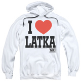 Hoodie: Taxi - I Heart Latka Pullover Hoodie