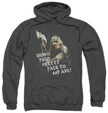 Hoodie: The Lord of the Rings: The Two Towers - Pretty Face Pullover Hoodie