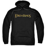 Hoodie: The Lord of the Rings: The Fellowship of the Ring - Lotr Logo Pullover Hoodie