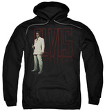 Hoodie: Elvis Presley - White Suit Pullover Hoodie