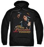 Hoodie: Elvis Presley - Are You Lonesome Pullover Hoodie