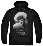 Hoodie: Lucille Ball - Soft Portrait Pullover Hoodie