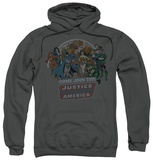 Hoodie: Justice League - Join The Justice League Pullover Hoodie