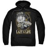 Hoodie: Garfield - Lazy 4 Life Pullover Hoodie