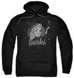 Hoodie: Bewitched - Vintage Witch Pullover Hoodie