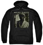 Hoodie: Miles Davis - Miles Portrait Pullover Hoodie