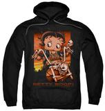 Hoodie: Betty Boop - Sunset Rider Pullover Hoodie