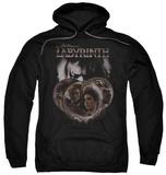 Hoodie: Labyrinth - Globes Pullover Hoodie
