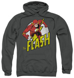 Hoodie: The Flash - Run Flash Run Pullover Hoodie