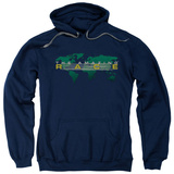 Hoodie: The Amazing Race - Around The World Pullover Hoodie
