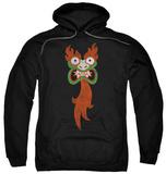 Hoodie: Samurai Jack - Aku Face Pullover Hoodie