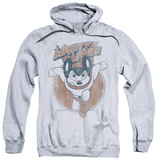 Hoodie: Mighty Mouse - Flying With Purpose Pullover Hoodie