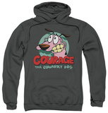 Hoodie: Courage The Cowardly Dog - Courage Pullover Hoodie