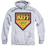 Hoodie: KISS - Army Logo Pullover Hoodie