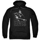 Hoodie: Elvis Presley - Guitar In Hand Pullover Hoodie