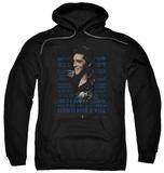 Hoodie: Elvis Presley - Icon Pullover Hoodie