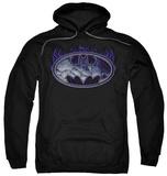 Hoodie: Batman - Cracked Shield Pullover Hoodie