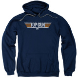 Hoodie: Top Gun - Distressed Logo T-shirts