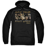 Hoodie: Labyrinth - Say Your Right Words Pullover Hoodie