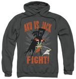 Hoodie: Samurai Jack - Jack Vs Aku Pullover Hoodie