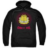 Hoodie: Garfield - Obey Me Pullover Hoodie