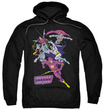 Hoodie: Justice League - Colorful League Pullover Hoodie