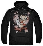 Hoodie: Betty Boop - Classic Kiss Pullover Hoodie