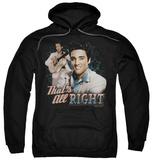 Hoodie: Elvis Presley - That's All Right Pullover Hoodie