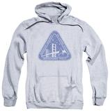 Hoodie: Star Trek - Distressed Logo Pullover Hoodie