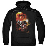 Hoodie: The Lord of the Rings: The Fellowship of the Ring - You Shall Not Pass Pullover Hoodie