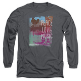 Long Sleeve: Woodstock - Plm Long Sleeves