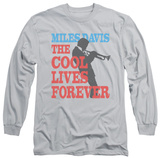 Long Sleeve: Miles Davis - Cool Lives T-shirts