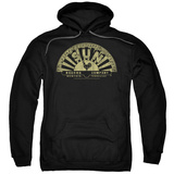 Hoodie: Sun Records - Tattered Logo Pullover Hoodie